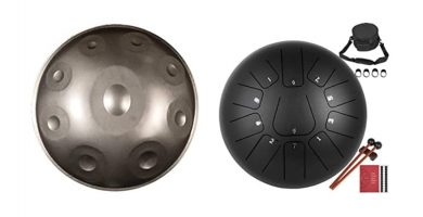Handpan vs tongue drum